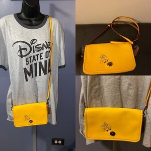 Disney x Coach Crossbody Purse-SKATEBOARD MICKEY